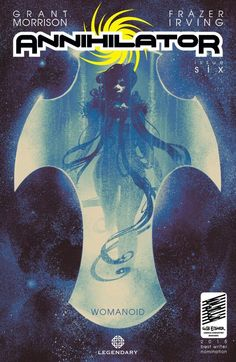 The cover to Annihilator #6 (2015), art by Frazer Irving