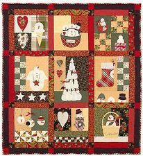 Snowman Country Pattern by Bunny Hill Designs