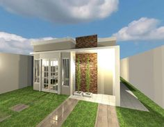 Meu projeto... Casa 49 metros quadrados,