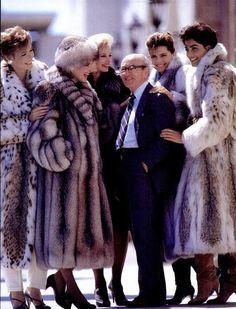 Fur Coat Ad