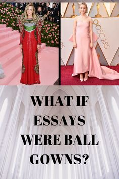 Why academic writing is the Oscars, not the Met Gala Better Writing, Cool Writing, College Success, Uni Life, Study Motivation Quotes, Academic Writing, Oscars, Red Carpet, Ball Gowns