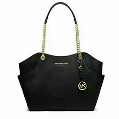 Check out Michael Kors Jet Set Large Shoulder Tote Black for $310.00. Get it on Shopee now! http://shopee.sg/minniesandi/214410785 #ShopeeSG