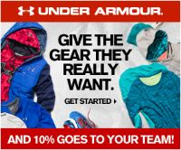 CARHA Hockey is excited to introduce RAISE THE GAME™ - a new hockey fundraising program powered by Under Armour that provides parents, coaches, and teams a free, fast, and easy way to raise money online. Earn 10% when you and your family shop for the holidays with Under Armour.