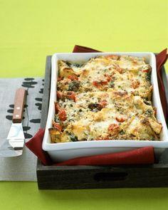 Lasagna with Sausage and Kale