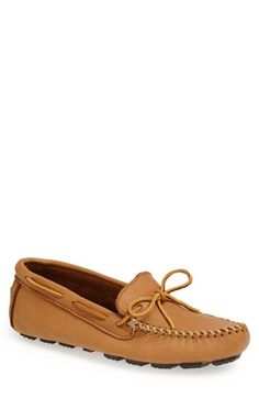 Minnetonka Moosehide Driving Shoe available at #Nordstrom