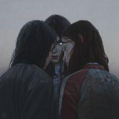 """Graeae"" Digital Paintinghttp://www.yurishwedoff.gallery#Art #DigitalArt #Illustration"