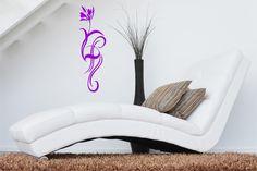 Willkommen bei **Design Out Of Norm - DOON Germany**  Wandtattoo **Blume Tribal 01** in Wunschfarbe. Auch für Möbel, Türen, Kühlschränke etc. geeignet.  Inklusive Schritt-für-Schritt-Anleitung...