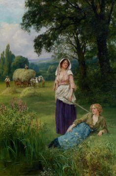 Haymaking, Henry John Yeend King
