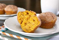 APPLE A DAY: Meatless Monday--Pumpkin Donut Muffins