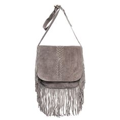 $125 SHIPPED - NWT LEATHER  Raj Imports Jessica Fringe Bag - retail price $250