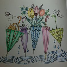 #adultcolouring #fabercastell #meinfrühlingsspaziergang #ritaberman