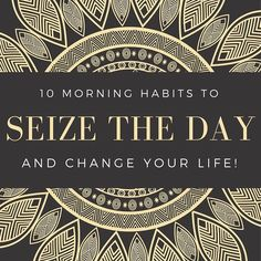 10 MORNING HABITS TO SEIZE THE DAY AND CHANGE YOUR LIFE! --- Jadesamermaid.com A lifestyle blog focusing on veganism travel and personal growth.