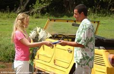 """50 First Dates! """"Don't call me Luce. I barely know you. Sweetie, you're sorta dating him. Sorry I'm not better looking.""""  """"Happy birthday, sir. What are you, like, 200 today?""""  """"You want me to put some peanut butter cups in yah eggs?""""  """"Are you staring at me or her? 'Cause you're starting to freak me out."""""""