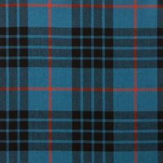 MacKay Blue Ancient Lightweight Tartan by the meter – Tartan Shop