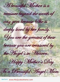 Pin By ღ Angelica ღ On Grieving Heart S Mom Poems Mother S Day In Heaven Mom In Heaven