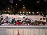 Vinter huse fra lego.