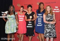 Cast of OITNB when they received Peabody Award