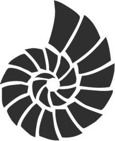Оболочка, Море, Океан, Силуэт, Клип, Искусство, Черный Beach Stencils, Stencil Art, Stencil Designs, Beach Crafts, Fused Glass Art, Stained Glass Patterns, Beach Art, Craft Patterns, Painted Rocks