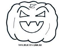 Modelo de calabaza 3 para #Halloween.
