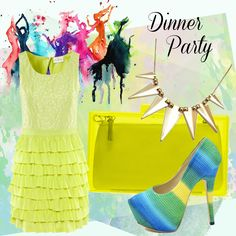 How to mix bold prints & bright colours for a dinner party http://www.venusbuzz.com/archives/41741/fashion-friday-mixing-bold-prints-bright-colours/