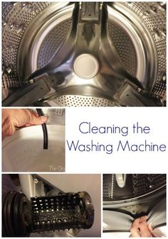 I have never cleaning my washing machine this thoroughly, but I'm going to do it now.