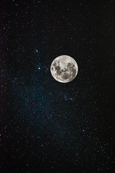 We see it all the time, but I can never get over how beautiful the moon is set in a sky of twinkling stars