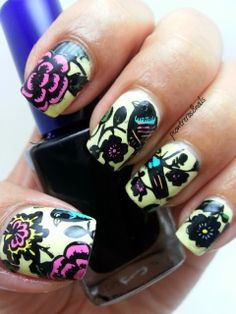 pcontreras8nails: Bird #nail #nails #nailart