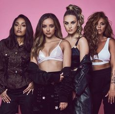 Little Mix❤️ Leigh-Anne💚,Jade💜,Perrie💙,Jesy💛