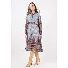Vintage India cotton gauze dress / 1960s 1970s Indian geometric block print sheer paper thin hippie dress / XS