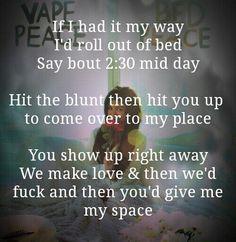 jhene aiko lyrics about getting high - Google Search