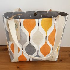 It's orange and you might carry it by Didi Lou on Etsy