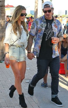 Audrina Patridge + Shorts