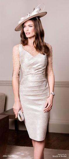 John Charles 2016 Mother of Bride Dresses