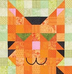 So Adorable!!!  QM July/Aug '11: Purr Patch by Denise Starck  via http://www.quiltmaker.com/blogs/quiltypleasures/2012/06/welcome-peanut-patch/