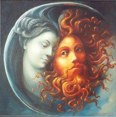 Padre Sol y Divinidad Luna