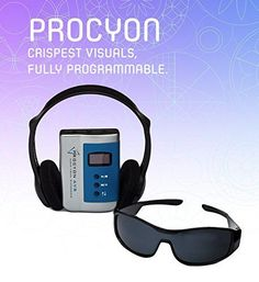 Mindplace Procyon AVS System Light and Sound Meditation Mind Machine - Manufactured by Mindplace Stunning Visual Experience Relaxation  - read more . . .