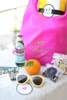 Welcome bag ideas. Save and Share your Wedding Ideas and Inspiration || Colin Cowie Weddings