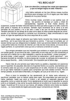 """Lecturas absurdas: """"El regalo"""""""