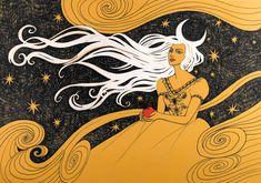 Moonlight in her Hair by yanadhyana on DeviantArt