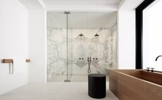 | BATHROOMS | #BALMORAL design by #RedgenMathieson
