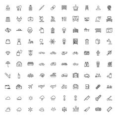 Tim Boelaars — Monicons 1 – 100 icons