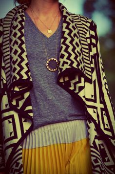 Casual Tribal Sweater