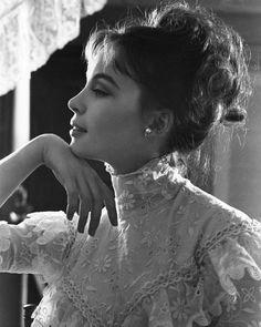 Profile perfection. Leslie Caron in Gigi, 1958