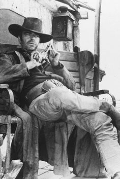 Jack Elam in Once Upon a Time in the West 24x36 Poster