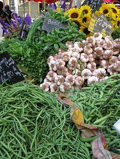 Market, Aix-en-Provence, France