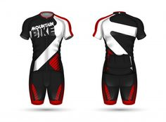 Vector Freepik, Cycling Outfit, Jersey, Wetsuit, Soccer, Sporty, Mtb, Layouts, Swimwear