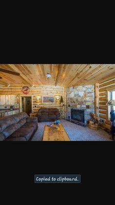 Real log cabin