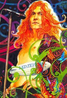 Led Zeppelin by oazen2008 on deviantART by Eva