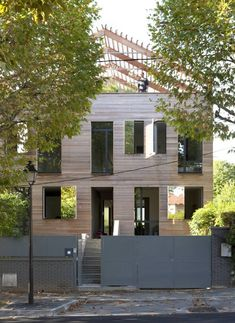 Lose a roof, gain a terrace.     Eco-Sustainable House by Djuric Tardio Architectes (Paris)