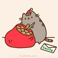cats and cookies, two of my favorite things.